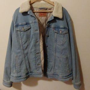 Jackets & Blazers - Levi's Oversized Denim Jacket